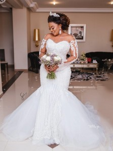 Custom wedding gown for Lydia