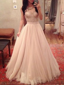 Fairy Cute Ball Gown Sweetheart Ivory Tulle Puffy Wedding Dress, Lace Bodice Wedding Dress