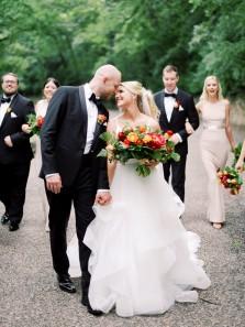 Gorgeous A-Line V Neck Spaghetti Straps White Tulle Wedding Dresses