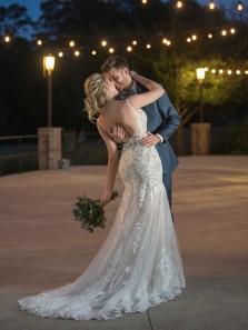 Modest Mermaid Round Neck Backless White Lace Wedding Dresses